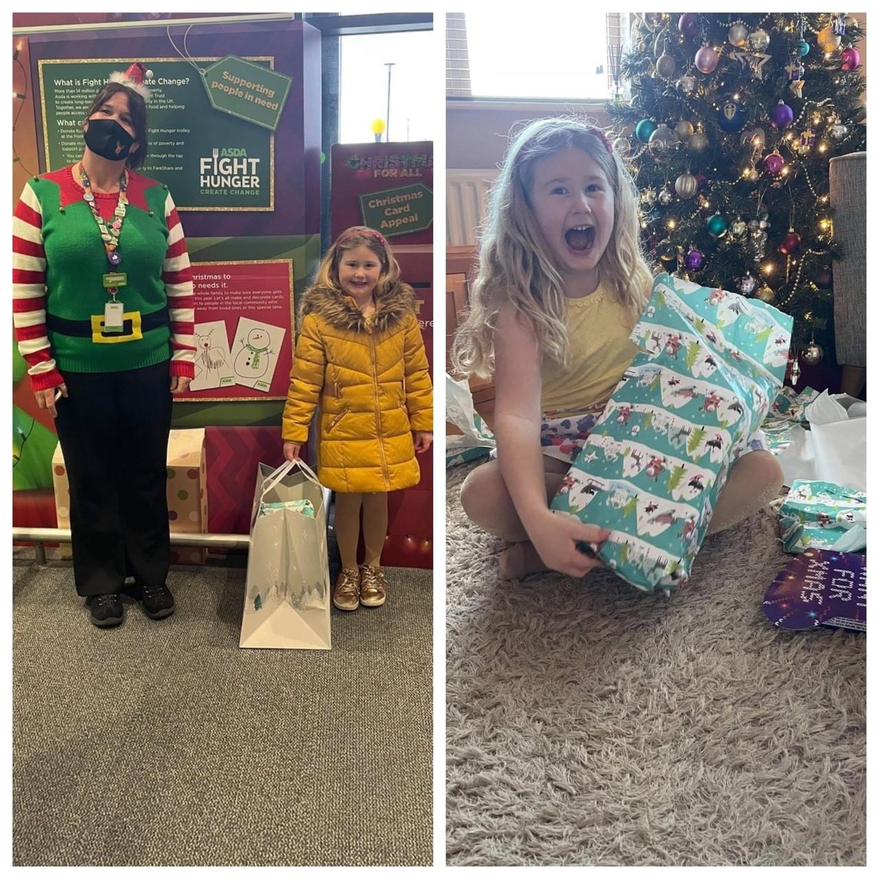 Kind-hearted Olivia, aged six, makes dozens of handmade cards for care home residents | Asda Swindon Haydon