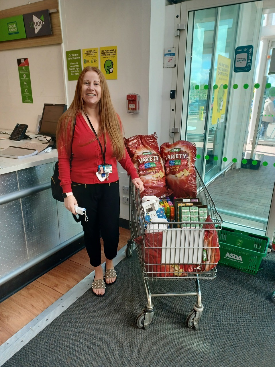 Doing it for the kids | Asda Clydebank