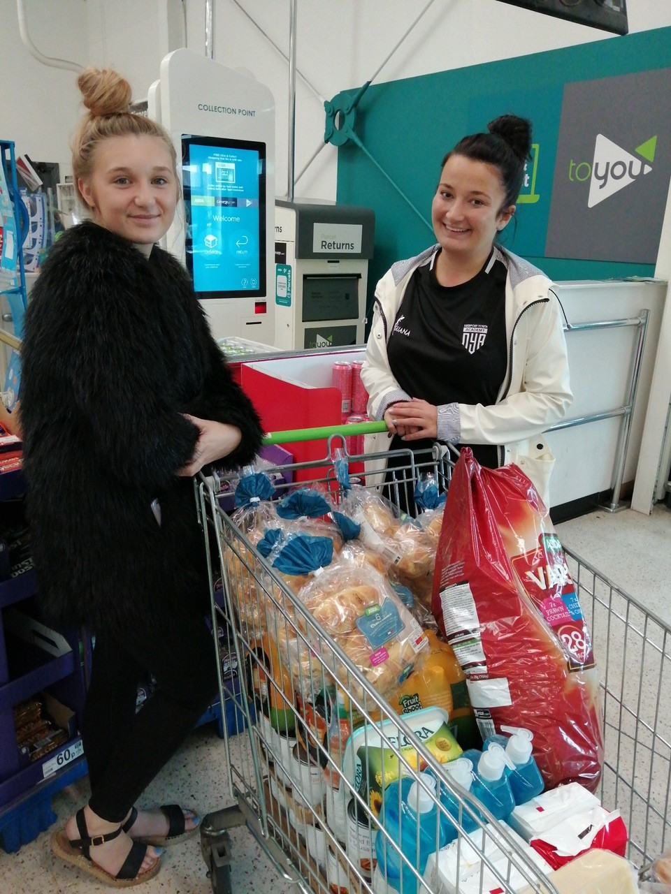 Special request from NECC Moorland Park  | Asda Newport Pillgwenlly