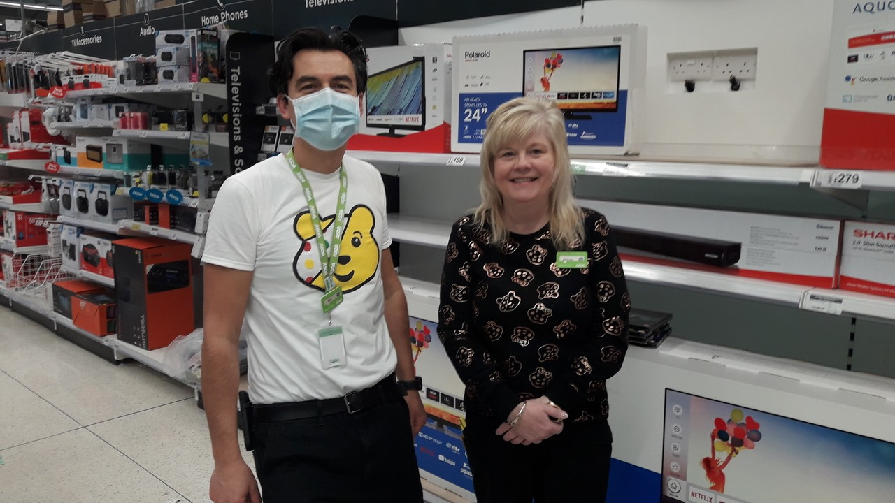 Pudsey Colleague dress up day in Coventry Walsgrave 🙂 | Asda Coventry