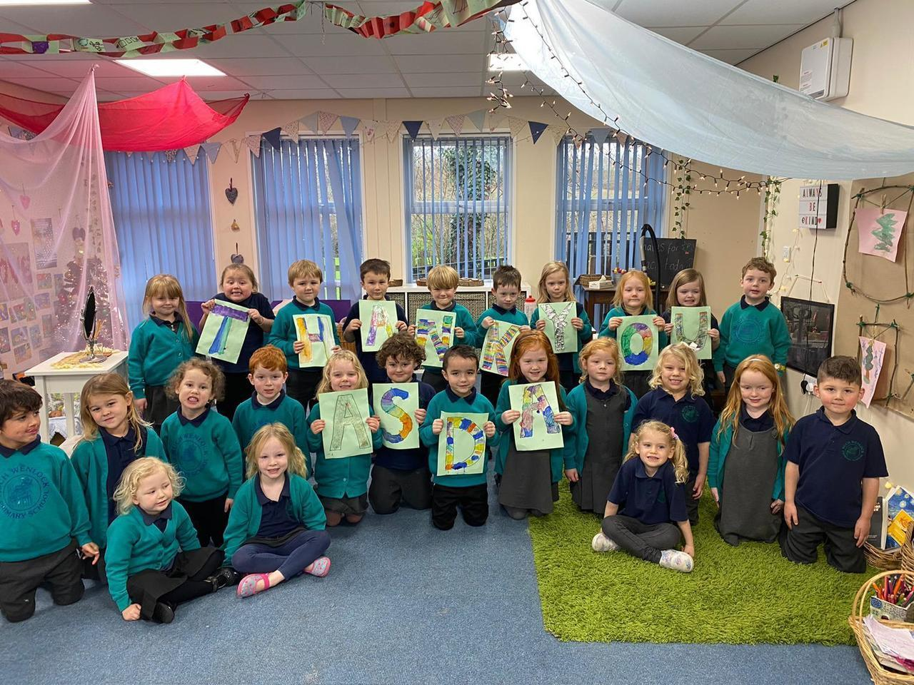 Big thank you from kids   Asda Donnington Wood