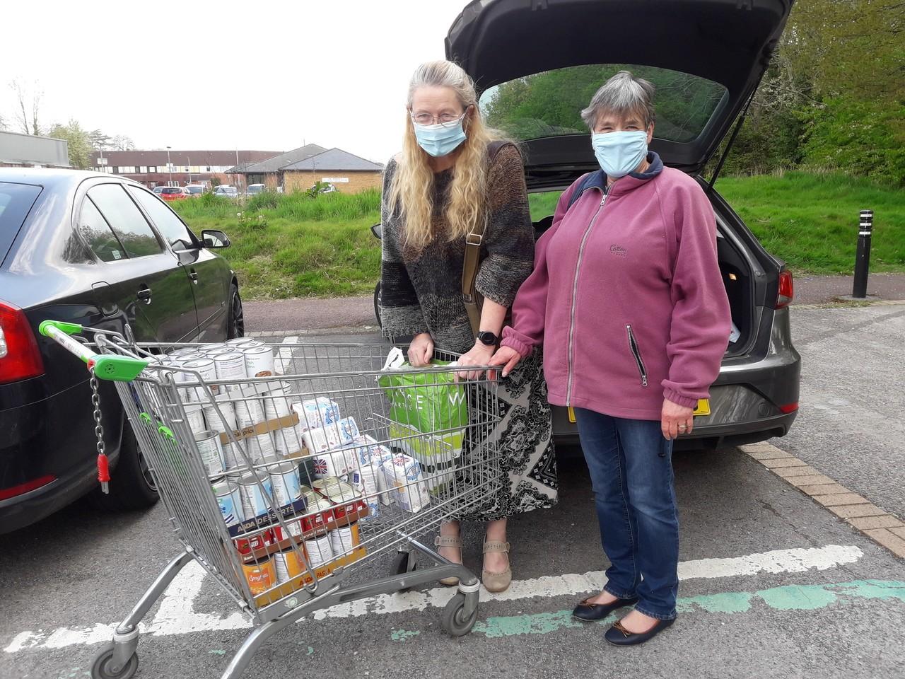Bettws Food Bank donation | Asda Newport