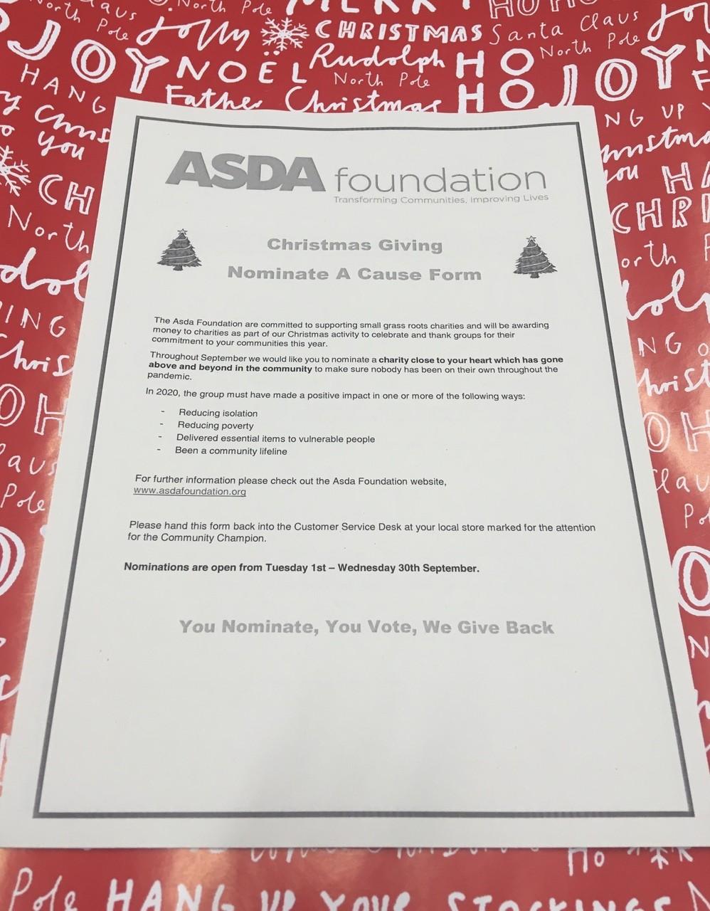Christmas giving | Asda Wheatley