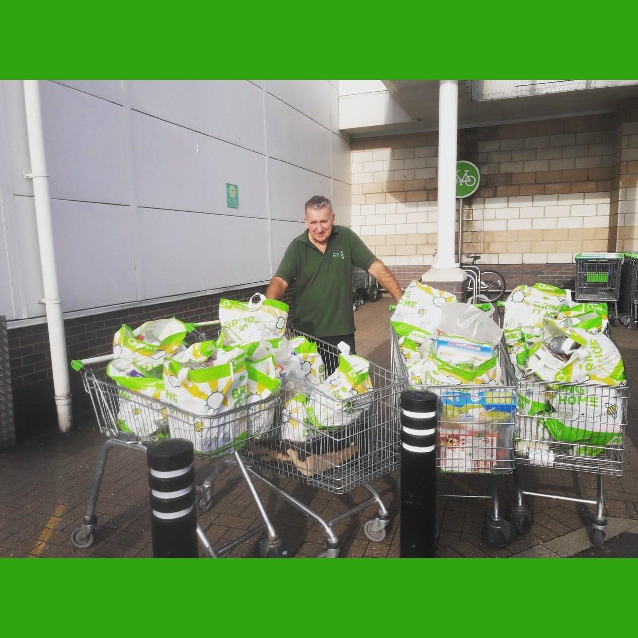 Donations for Hartlepool Foodbank | Asda Hartlepool