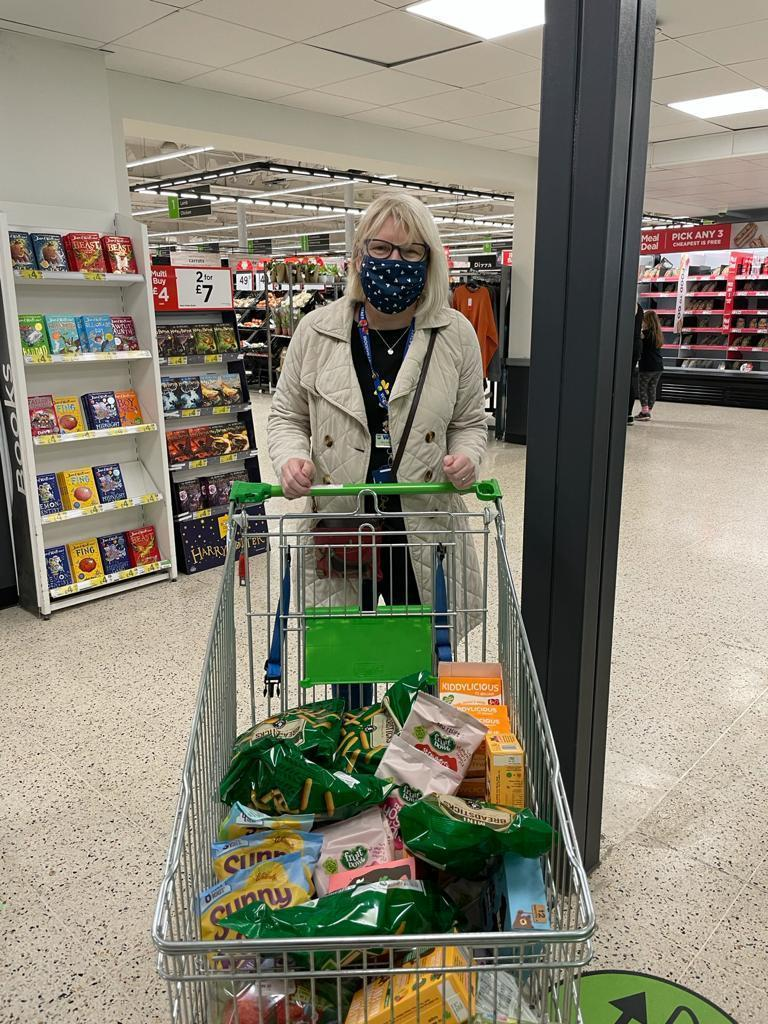 Donation for Woodville after school club | Asda South Woodham Ferrers