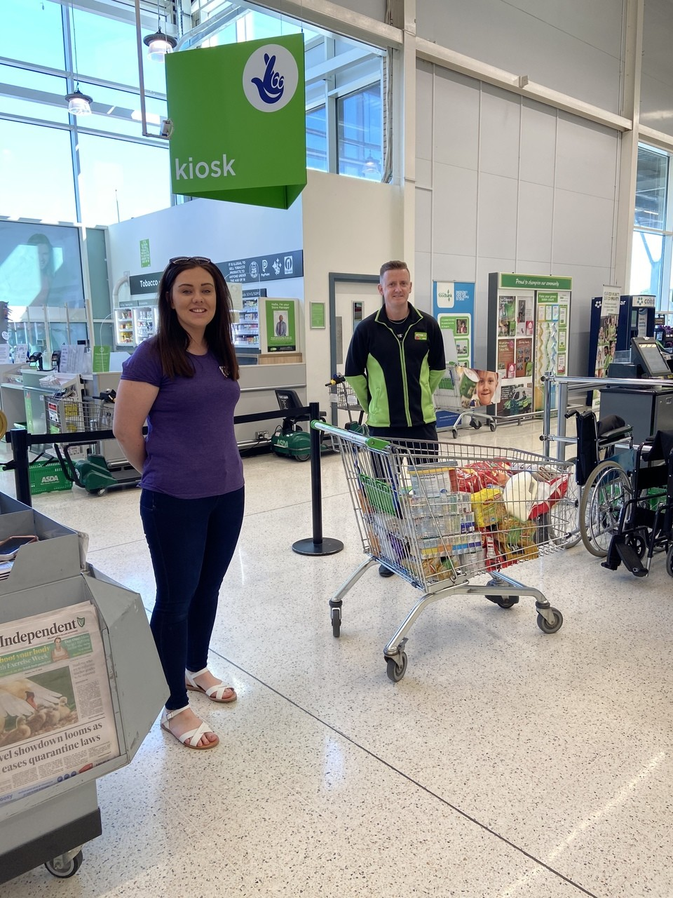 FIND Centre donation | Asda Enniskillen