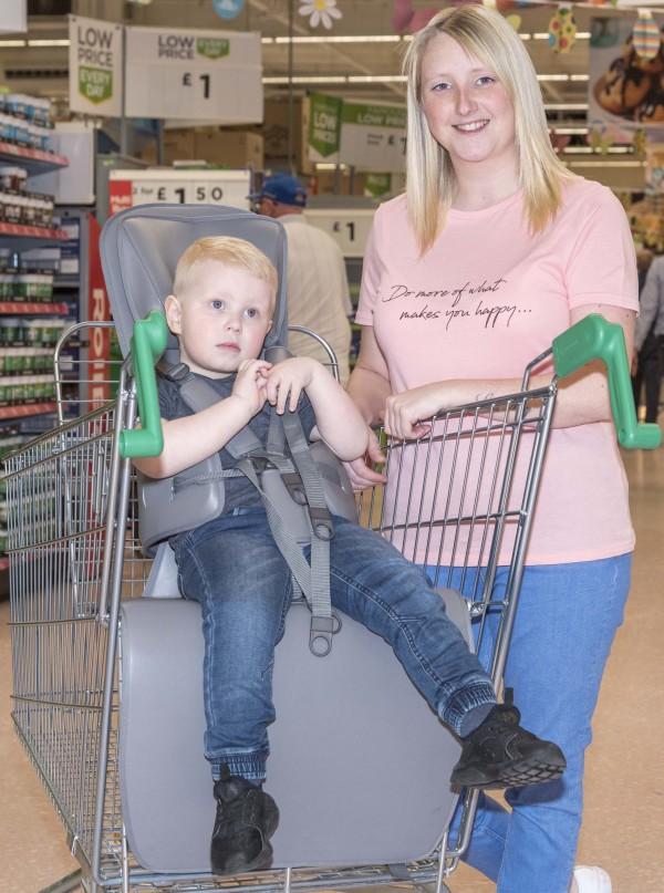 Bobby's GoTo Shop trolley at Asda Birchwood