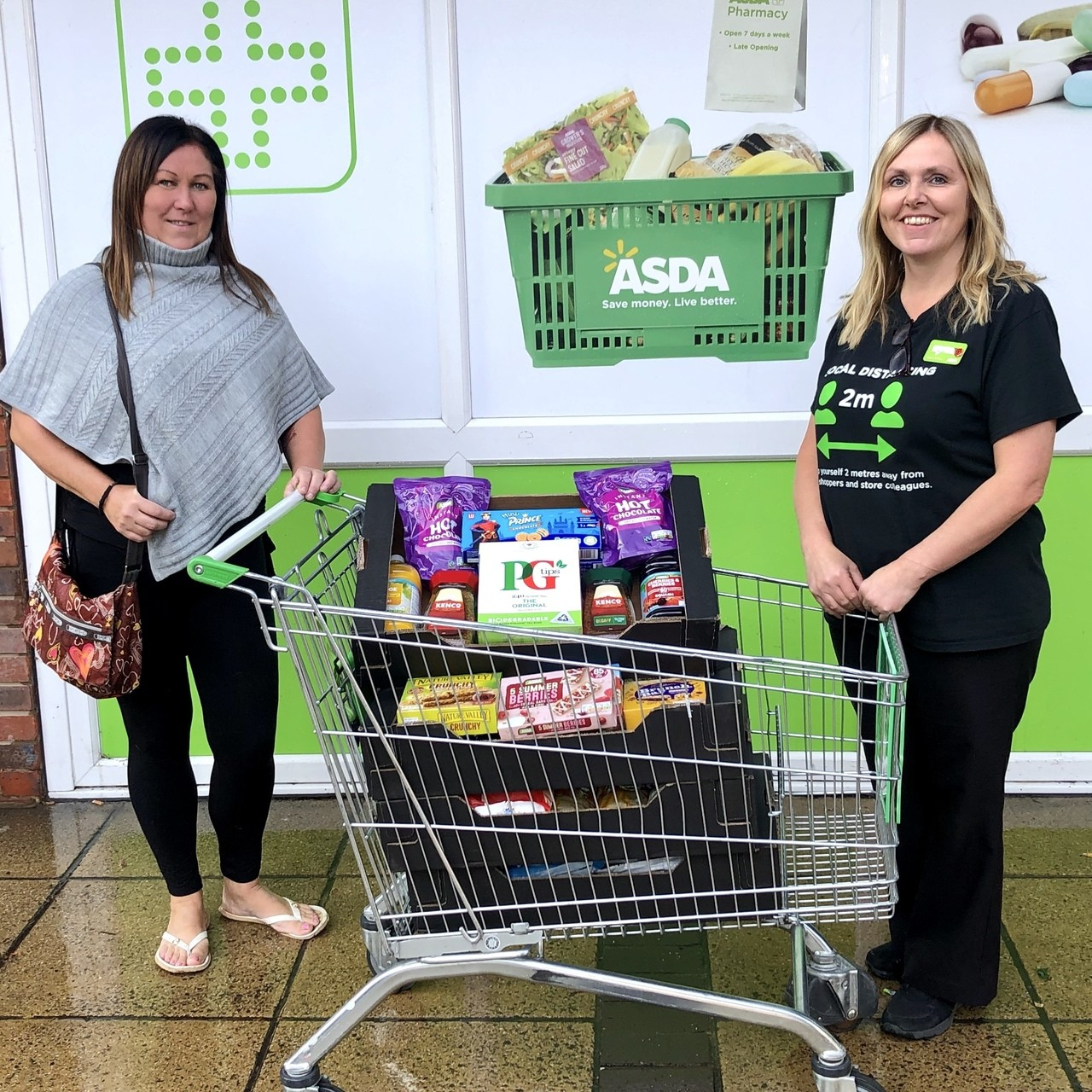 Donation to The Trashbusters | Asda Waterlooville