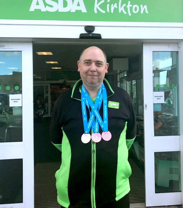Matthew White from Asda Dundee Kirkton has been chosen for the Great Britain Special Olympics team