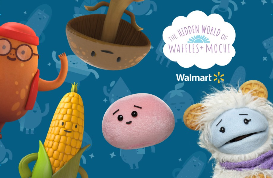Waffles + Mochi with Walmart spark