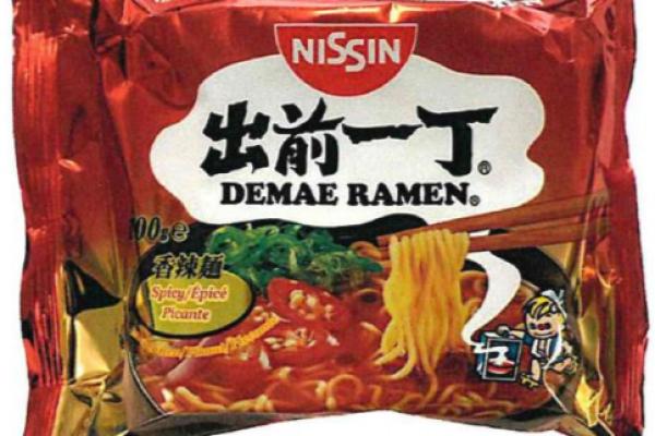 Nissin Spicy Damae Ramen, 100g