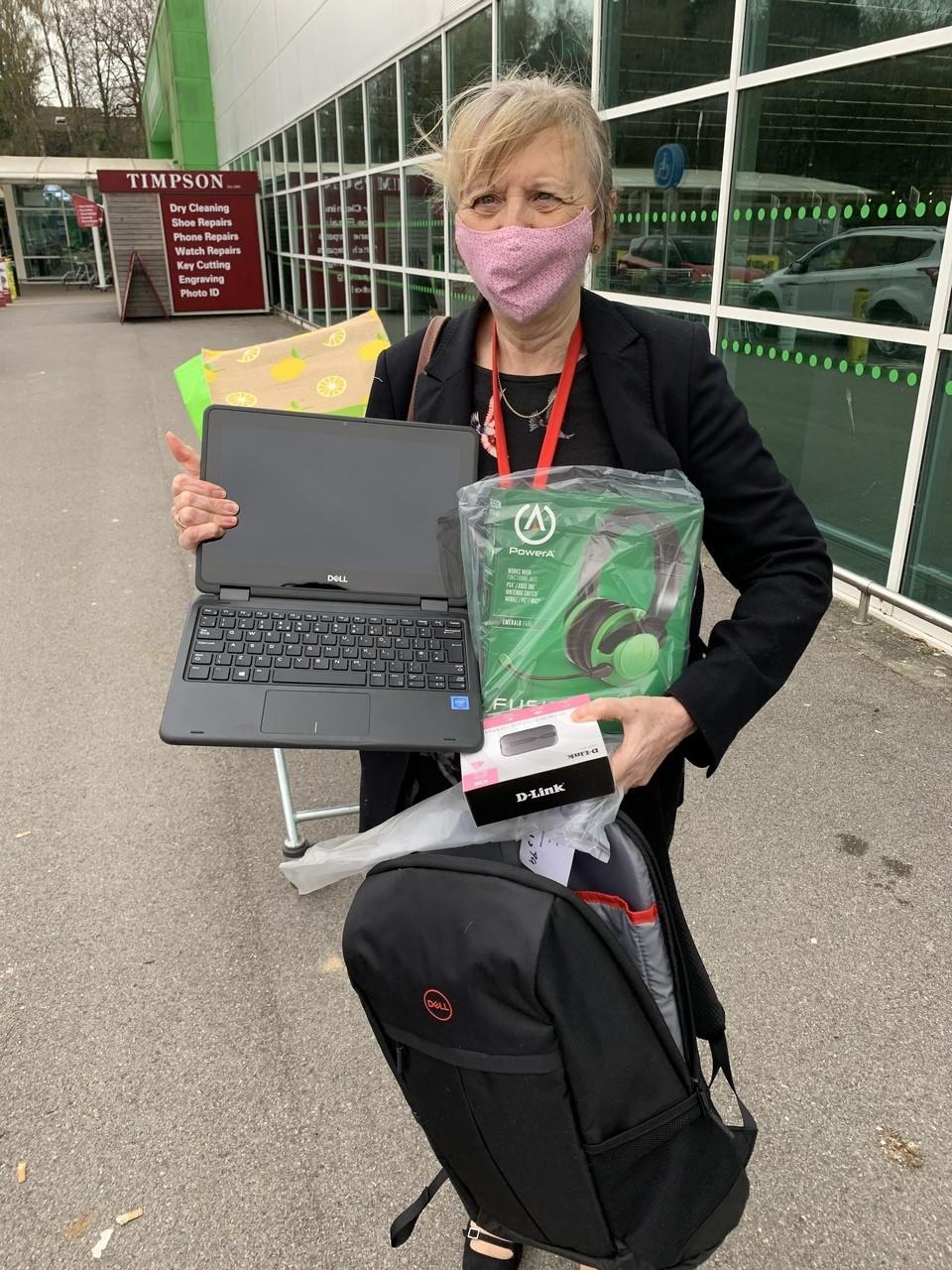 Laptop donation   Asda Havant