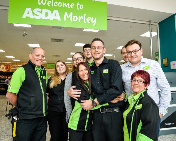 David Bould at Asda Morley is popular with colleagues and customers