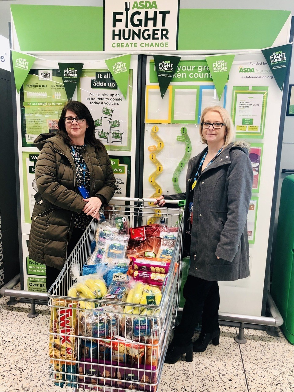 Donation to Mental Health Services  | Asda Leicester Abbey Lane
