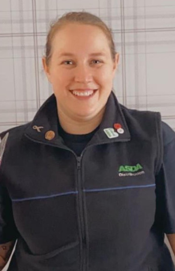 Lucy Mansell-Render from Asda Washington George depot