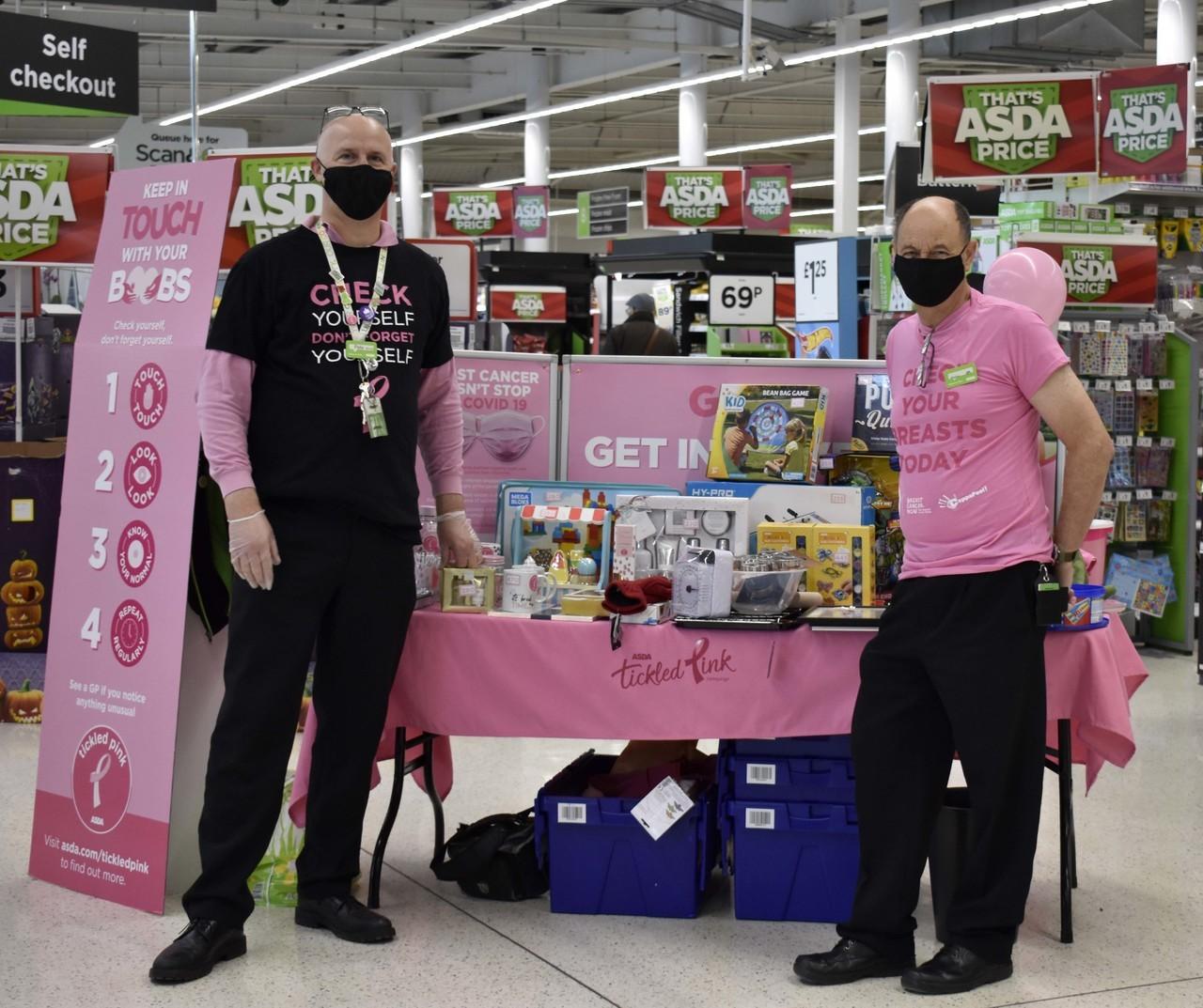 Asda Bideford supports Tickled Pink | Asda Bideford