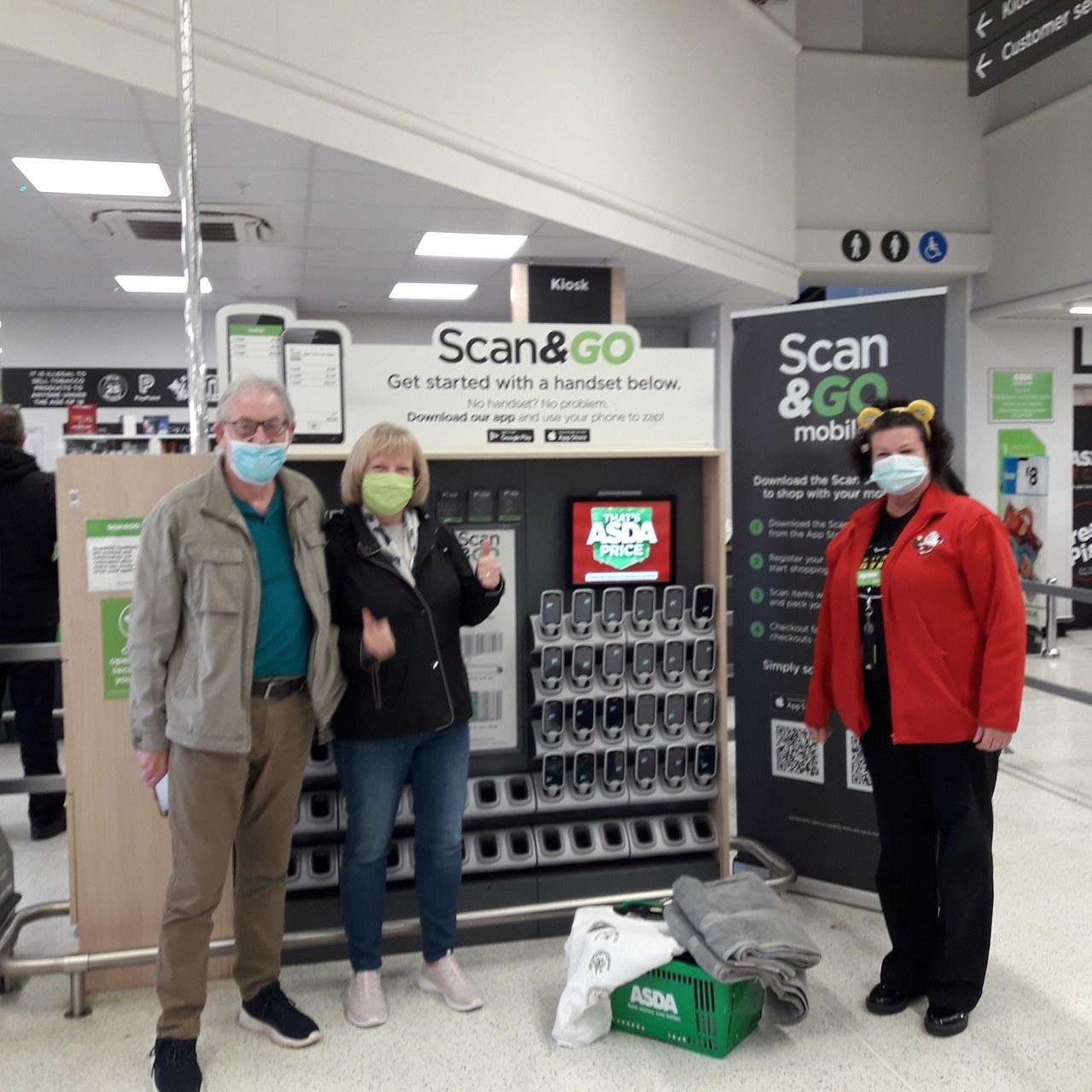 Emergency donation | Asda Peterborough