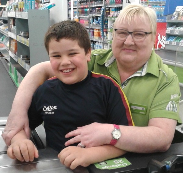 Customer Joe and colleague Joan at Asda Gosforth