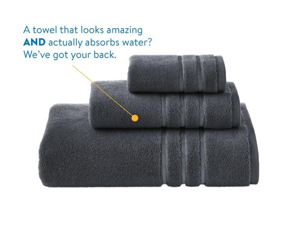 Hotel Style Bath Towels