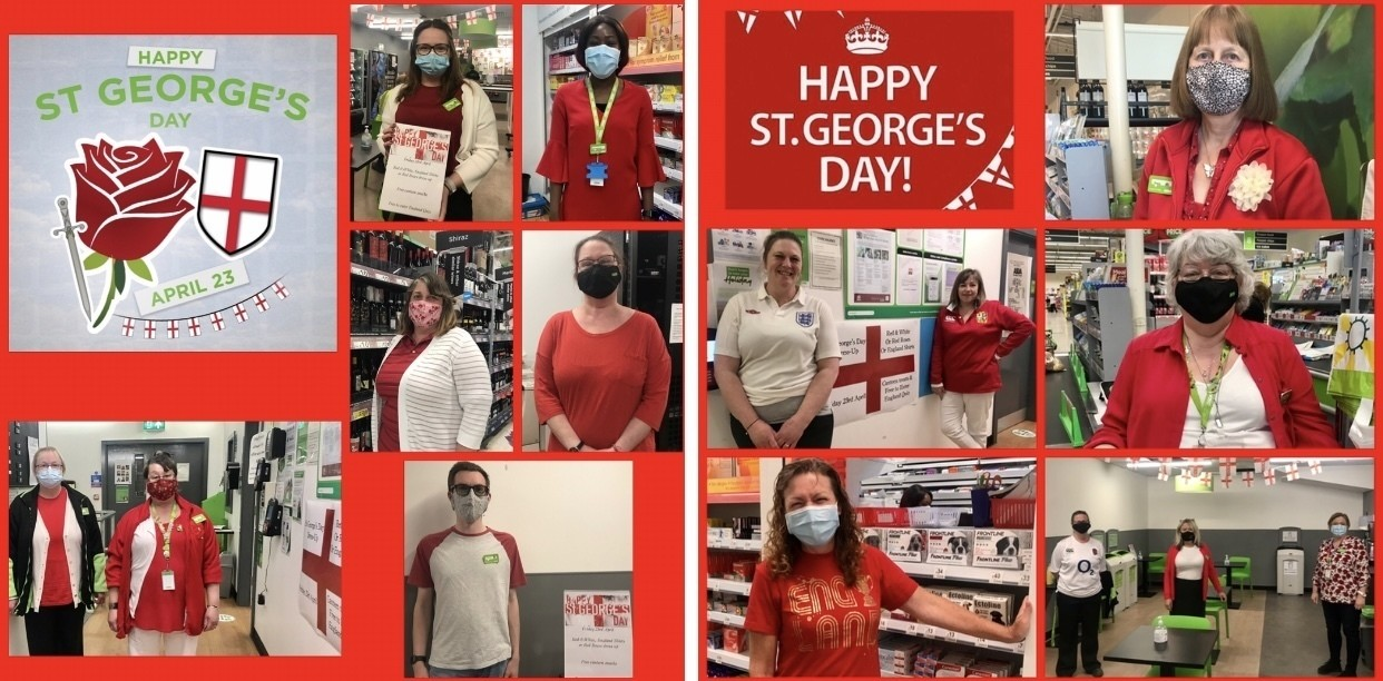 Happy St George's Day!   Asda Frome
