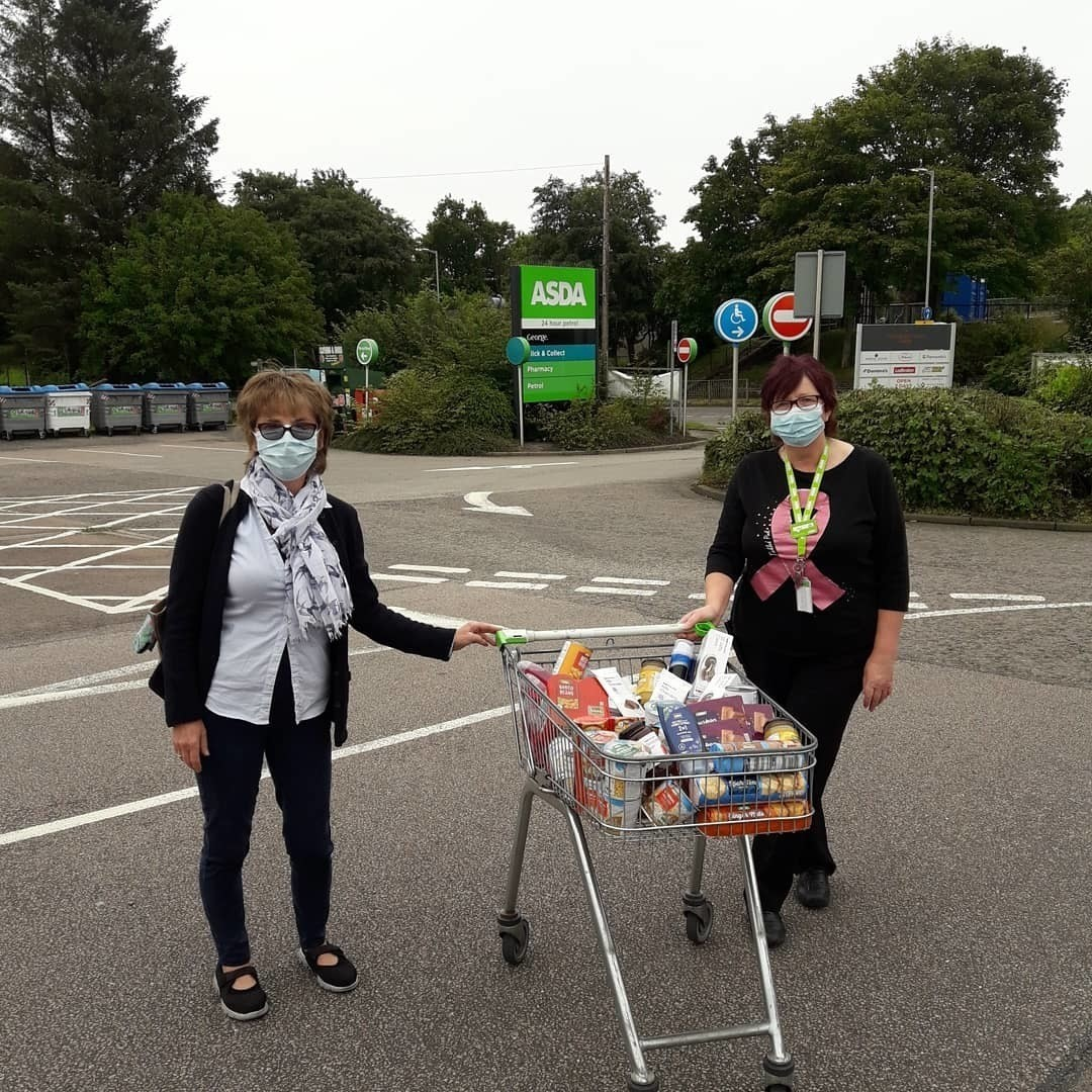Donation to The Living Well Project | Asda Middleton Park