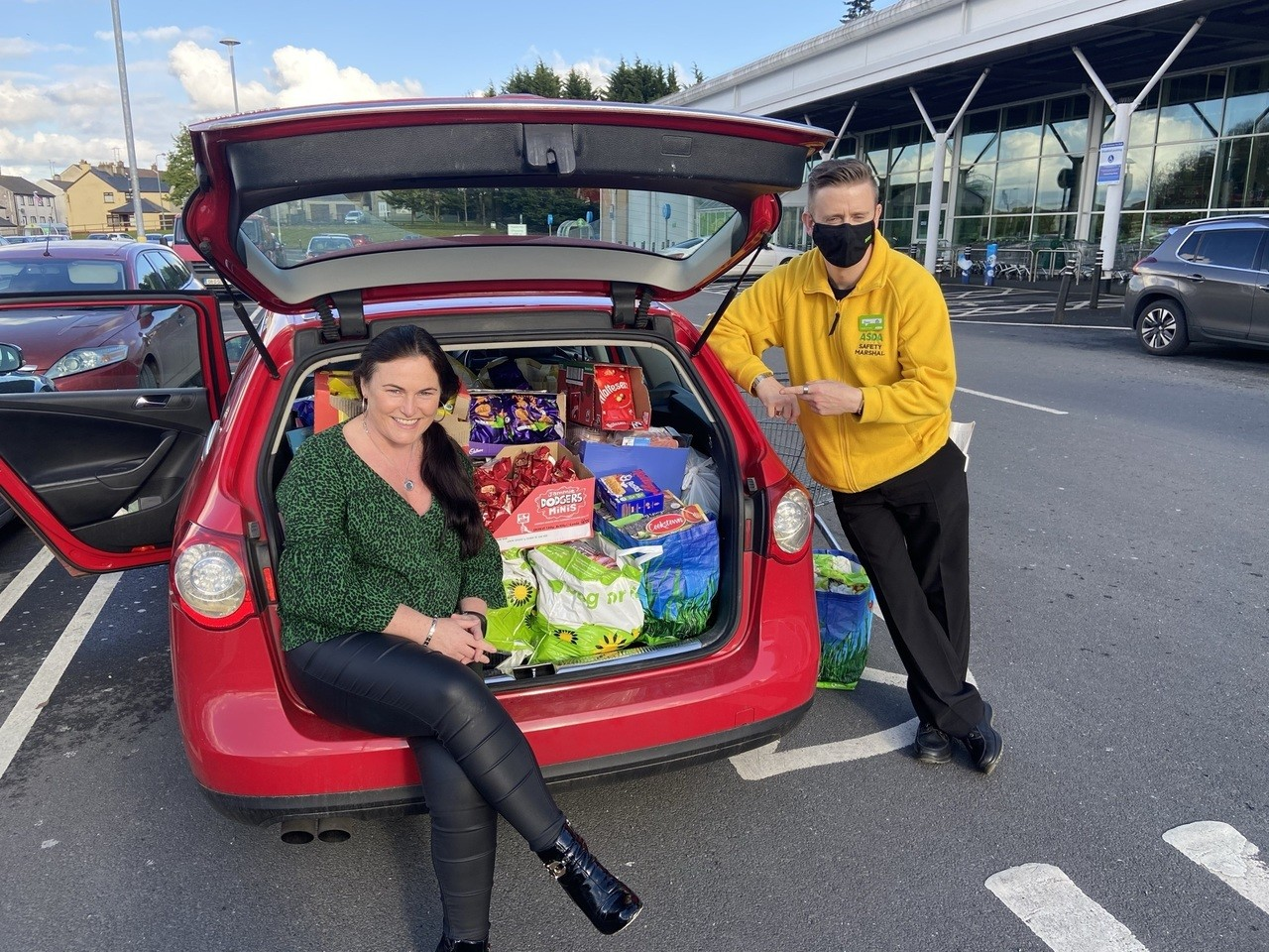 Supporting communities donation Grant for £750 donated to Autism NI | Asda Enniskillen