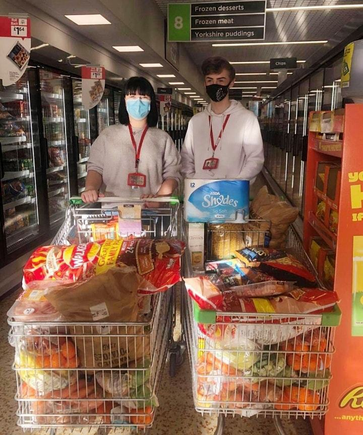Food parcels for the community | Asda Gosforth
