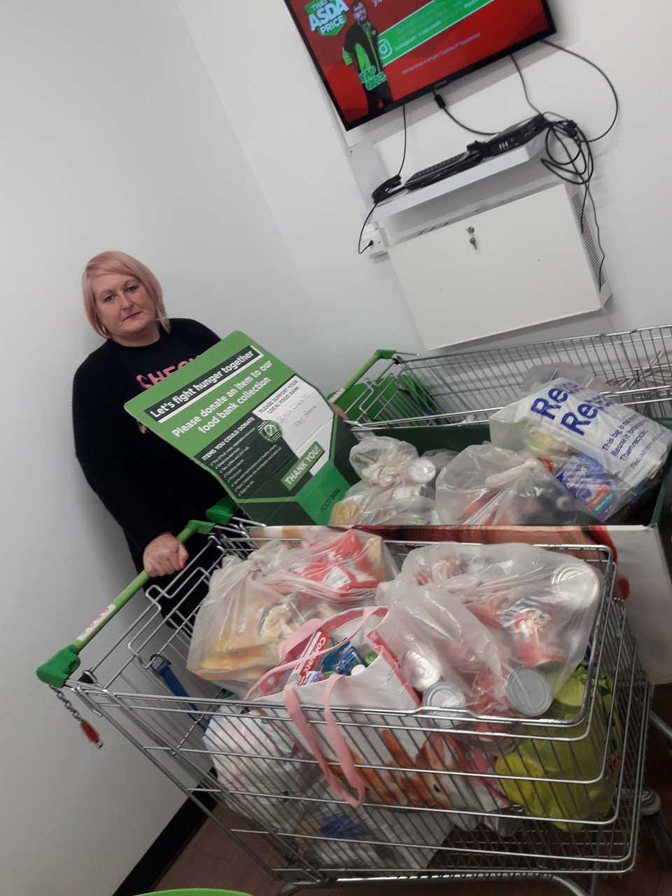 Food bank donation | Asda Sedgley