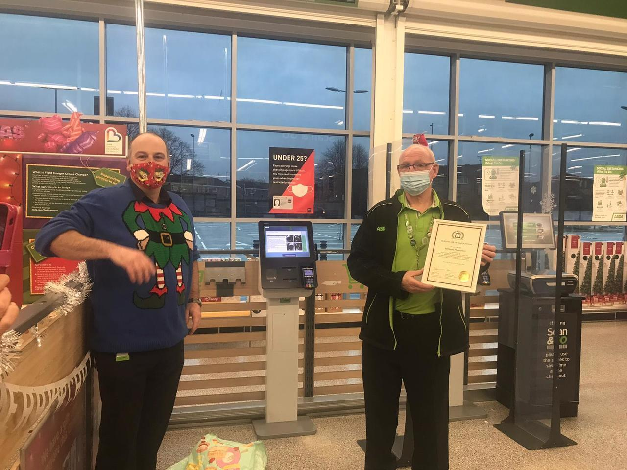 BRITISH CITIZEN AWARD | Asda Reddish