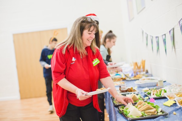 Asda Minworth sprinkles festive magic with Christmas party at YMCA Birmingham
