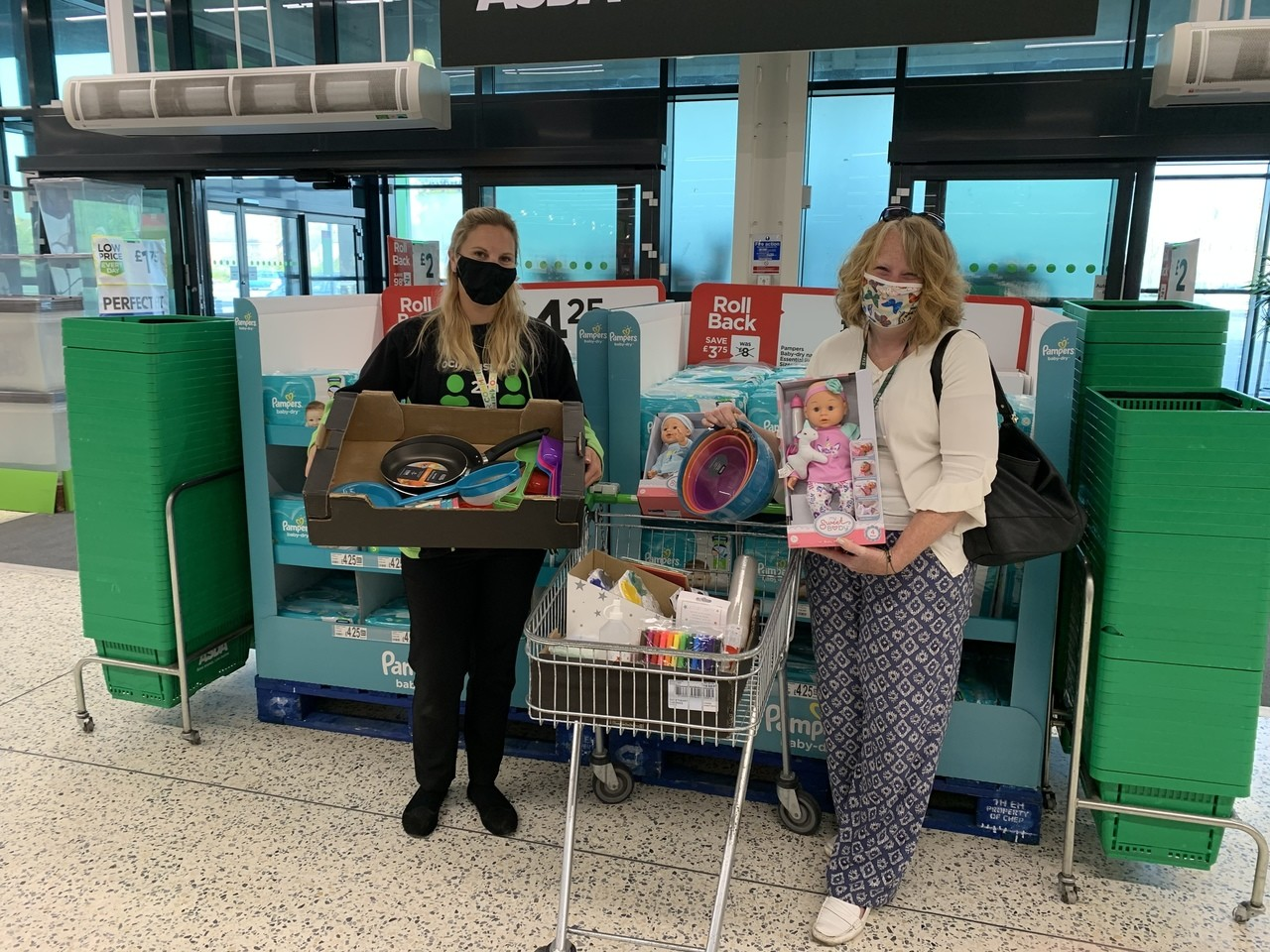 Kirby Primary Academy donation | Asda Clacton-on-Sea