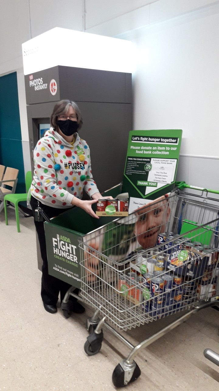 Foodbank donation | Asda Darlington
