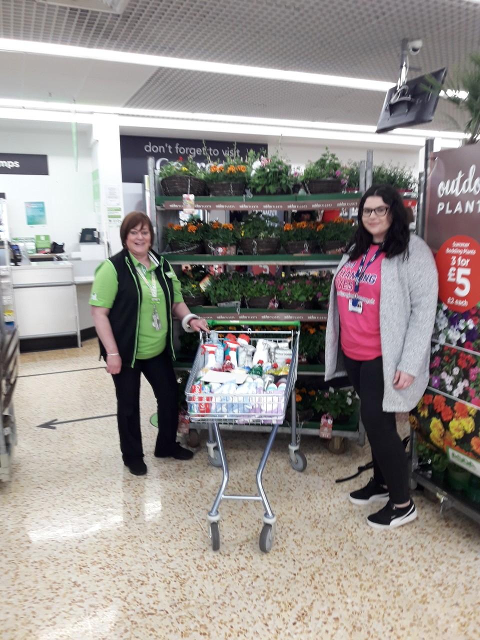 Asda Cramlington makes charity donation to Changing Lives | Asda Cramlington