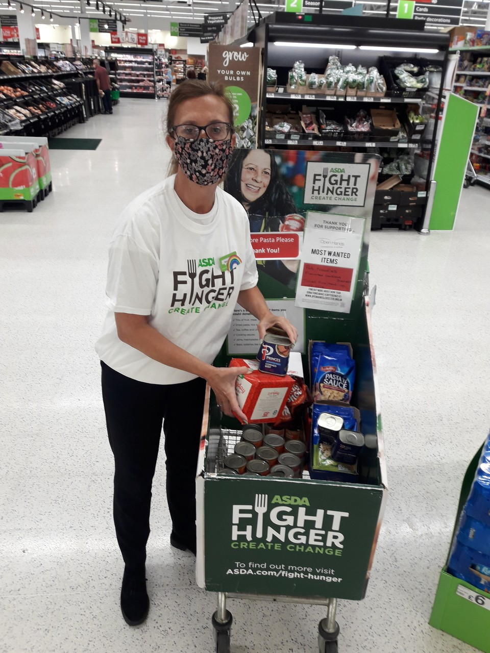 Fight Hunger support | Asda Oadby