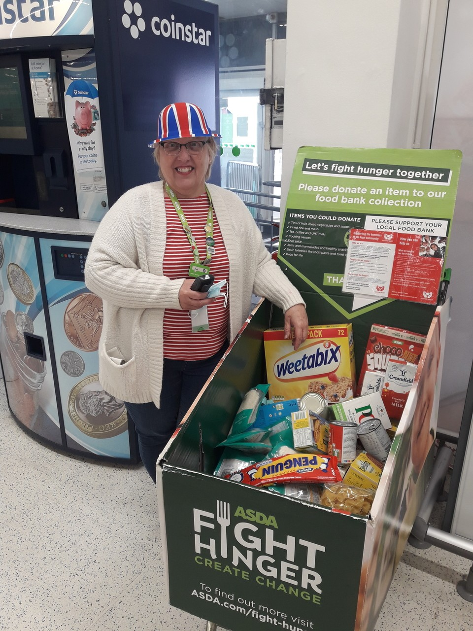 Foodbank donations  | Asda Thornaby