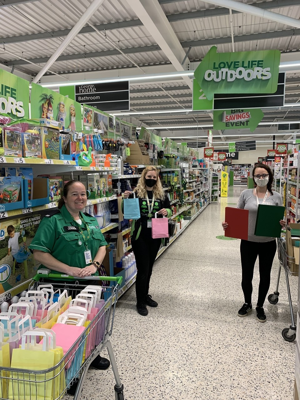 St.Johns Ambulance cadets  | Asda Clacton-on-Sea