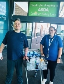 Donation to the Toller Road Residential  | Asda Leicester Abbey Lane