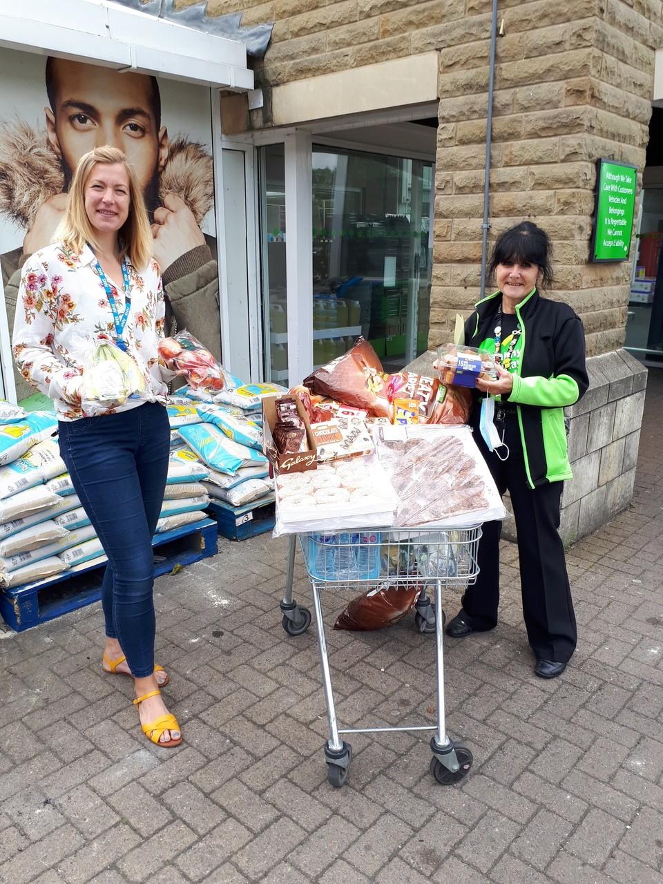 Donation toNHS Huddersfield | Asda Huddersfield