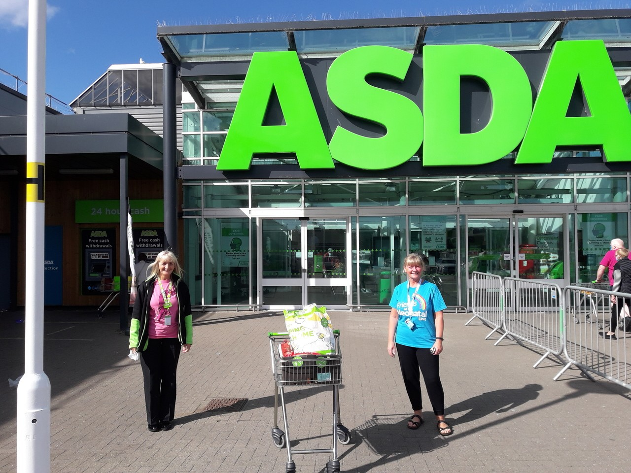 Friends of the NeoNatal Unit at Archies   Asda Dyce