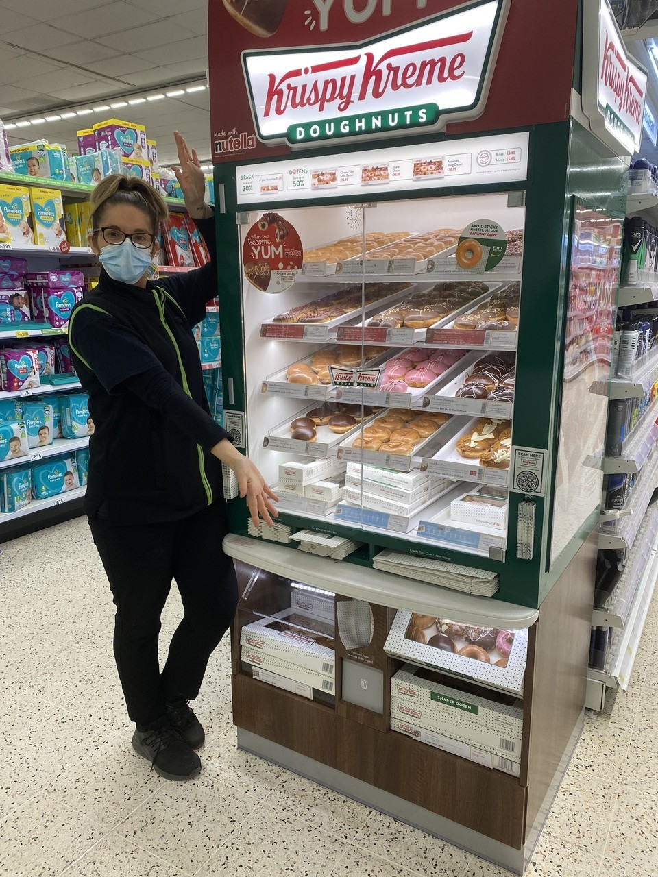 Krispy Kreme donuts have arrived | Asda Chelmsford