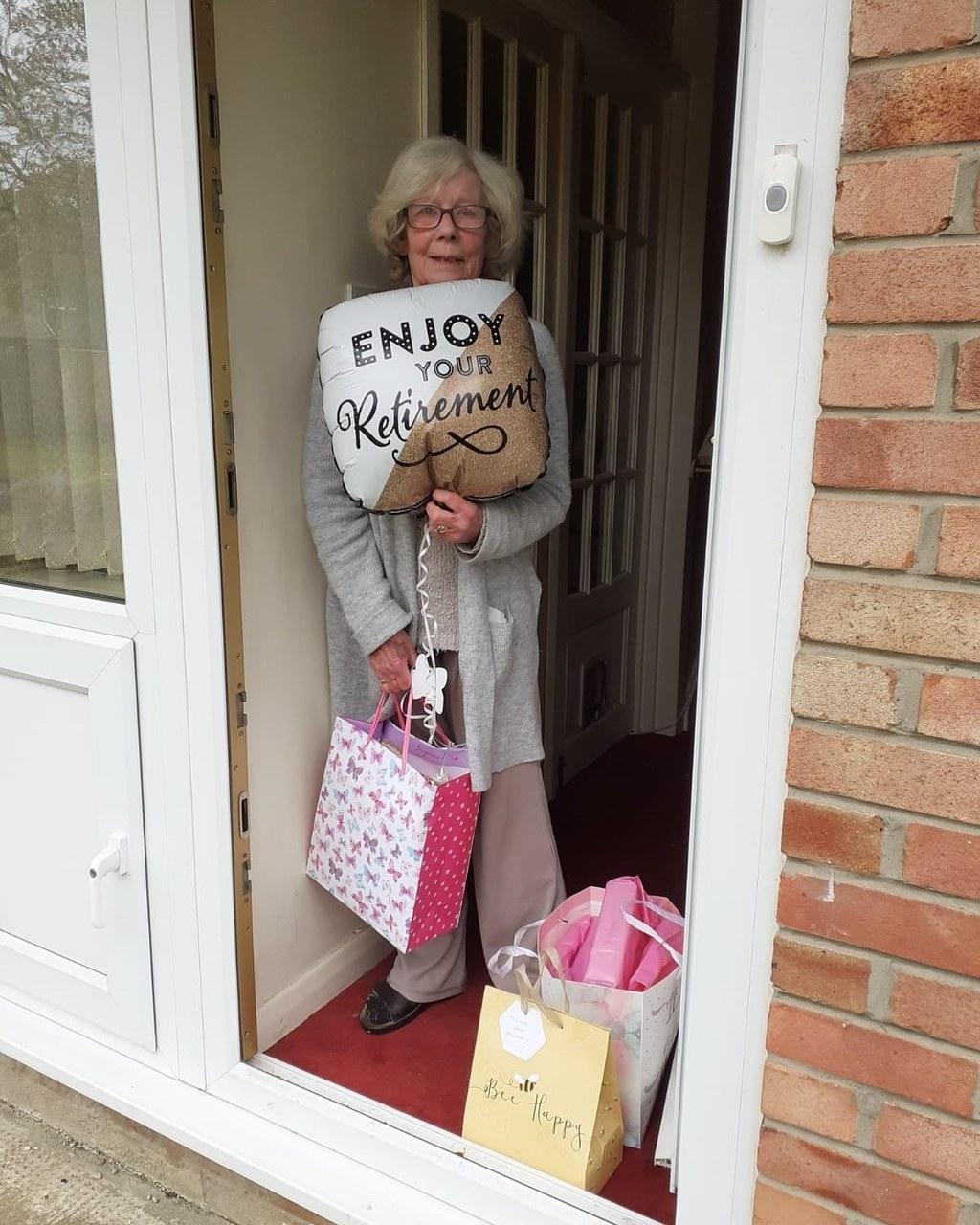 Happy retirement Linda | Asda Gosforth