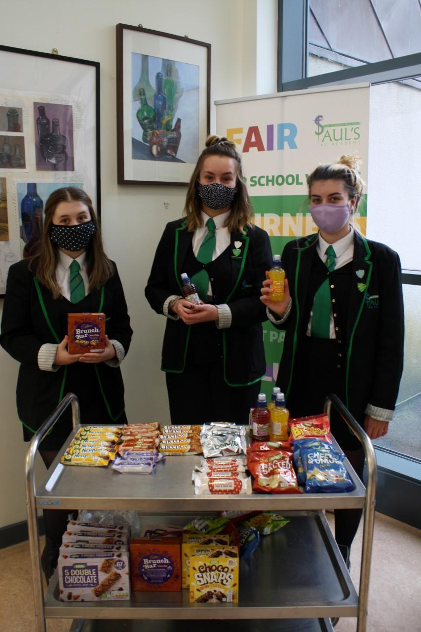 Free healthy snack tuck shop | Asda Dundee Kirkton