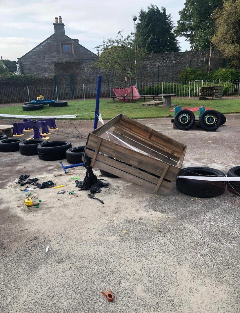 Help for vandalised nursery | Asda Dundee Kirkton
