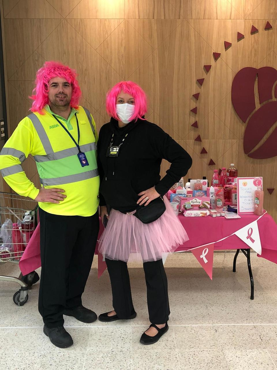 Another great year of supporting Tickled Pink   Asda Great Bridge