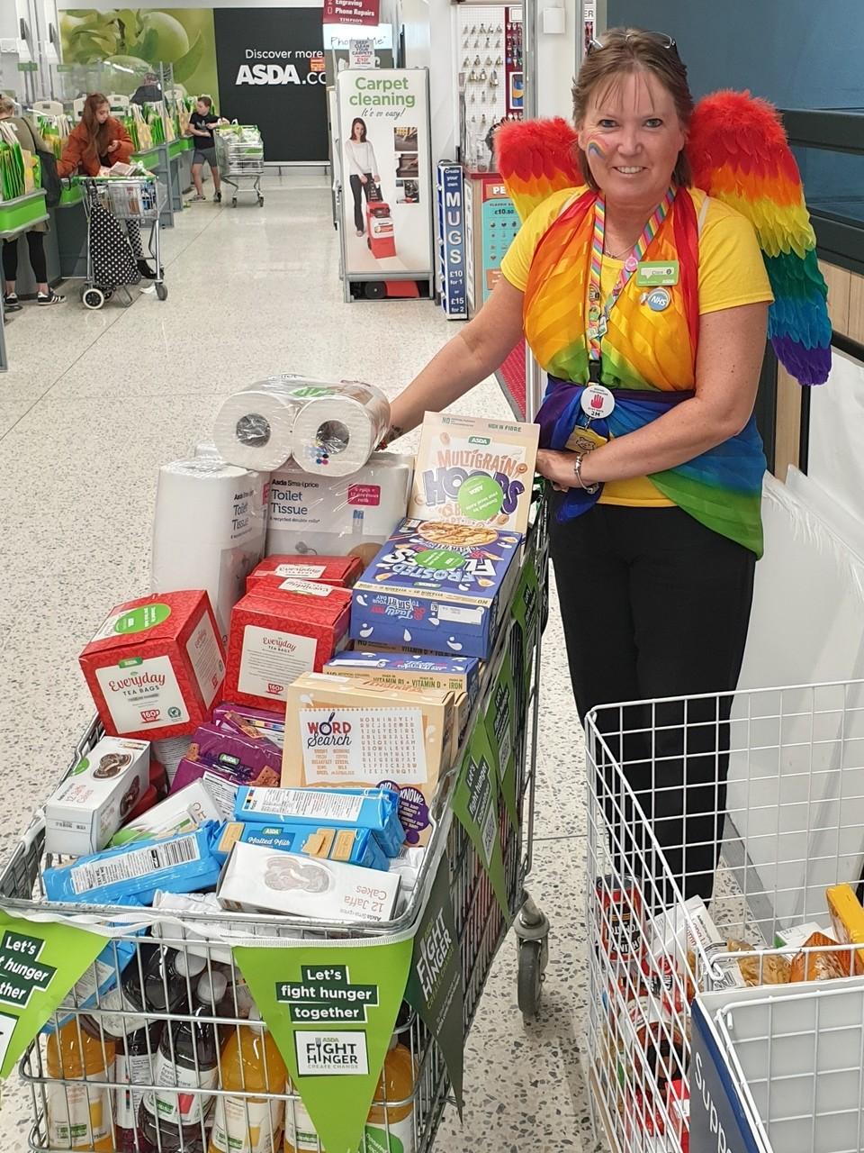 Bbusy day donating. | Asda Newport Isle of Wight