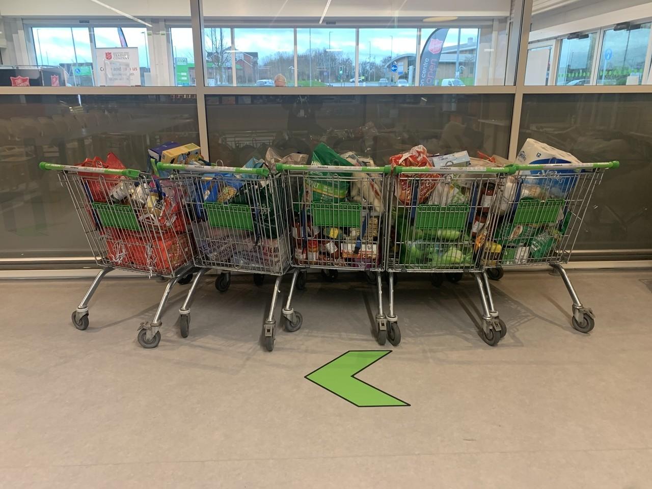 Christmas generosity | Asda Middleton