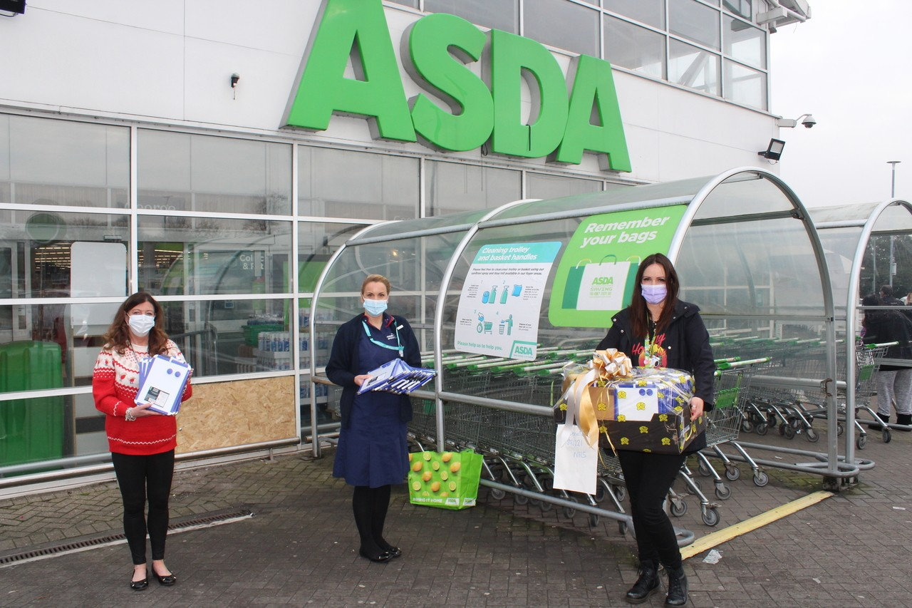 Bolton, Burnden Park and Farnworth store Memory board donation to the Royal Bolton Hospital.  | Asda Bolton