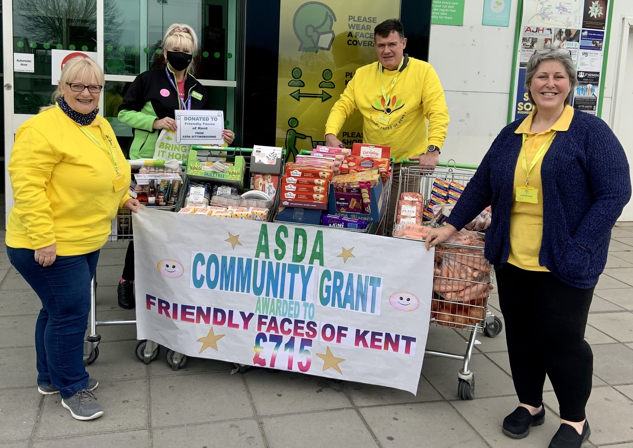 Happy times for Friendly Faces of Kent | Asda Sittingbourne
