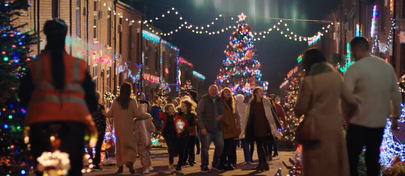 The Asda Christmas TV advert was filmed in Tyldsley