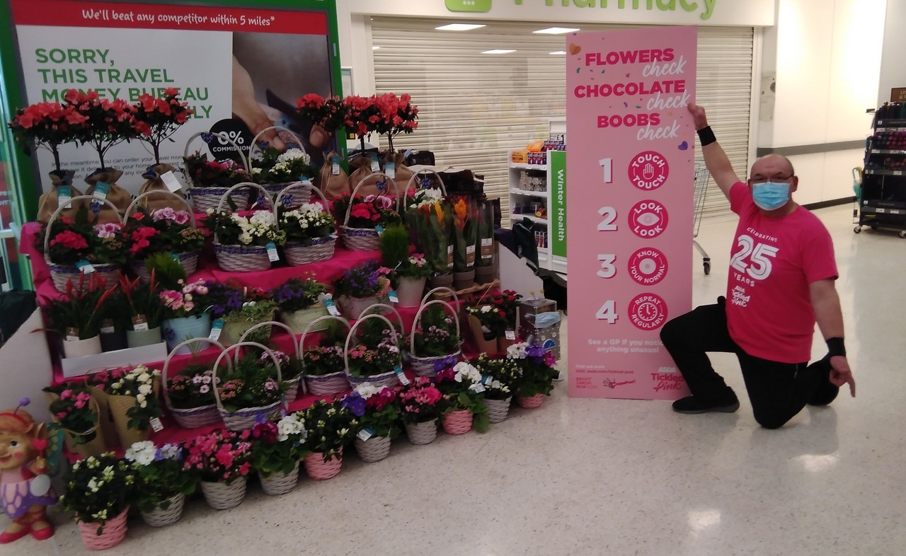 Tickled to be back in Pink! | Asda Stafford